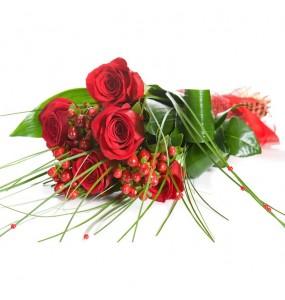 5 Rose Rosse
